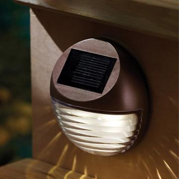 Solar utomhusvägg ljus