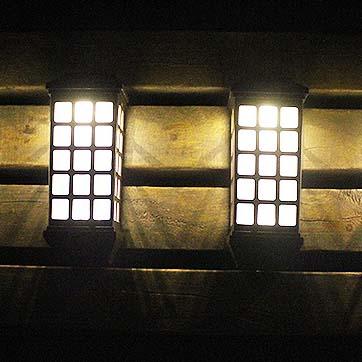 Solar väggmonterad ljus