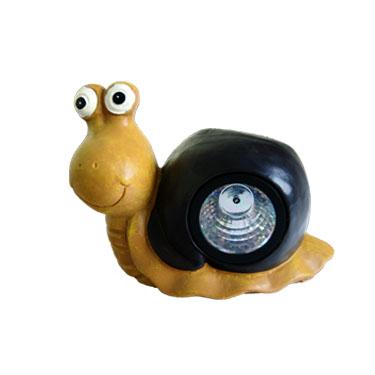 Solar Snail Resin Lampa