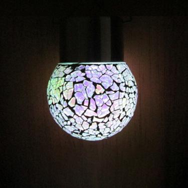 Solar Hängande Mosaic Lights
