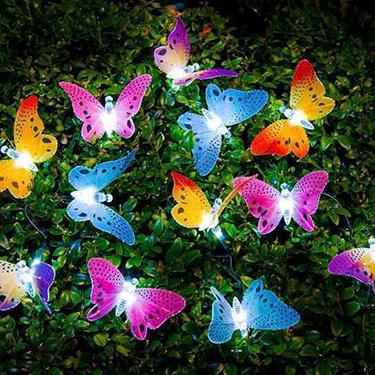 Solar Power Butterfly String Light
