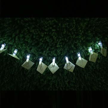 Solar Number String Light